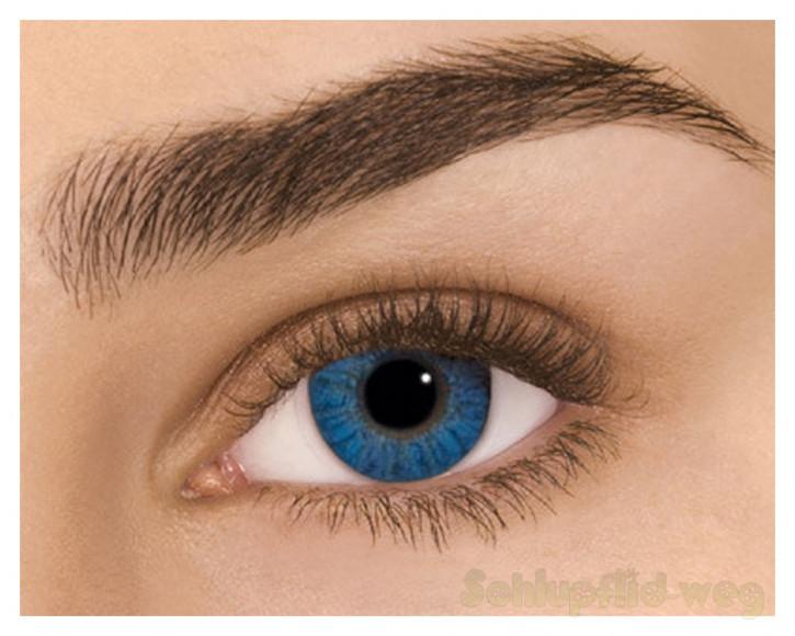 Kontaktlinsen - (Brilliant Blue)