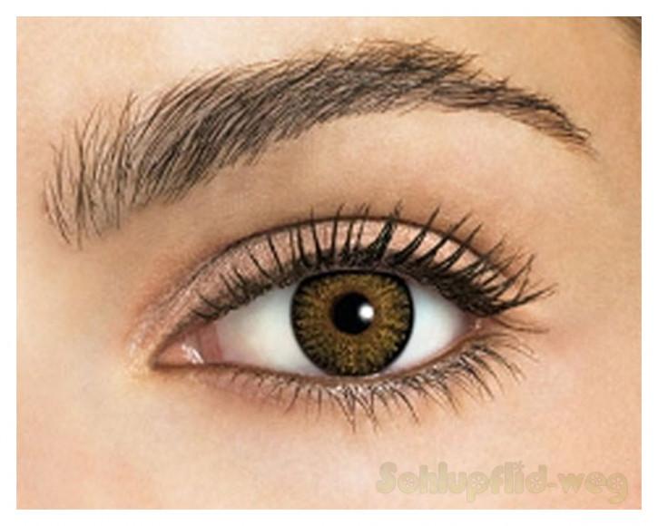 Kontaktlinsen - (Pure Hazel)