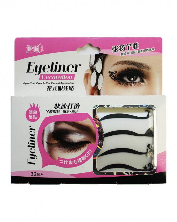 Eyeliner Deco Tapes mit Motiven