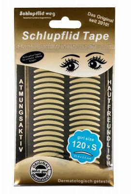 """Schlupflid Tape® """"girl size"""" (Größe S) [240 Stück] im Doppelpack - transparent"""