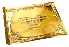 Golden Face Collagen Gesichtsmaske mit Q10 und Hyaluronsäure 10er Set