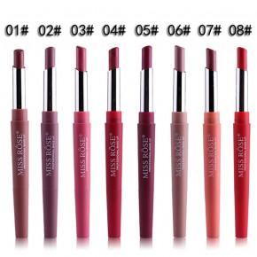 MISS ROSE® Lipliner 2in1 Lipstick (Spanish Pink 06) Lippenstift - Lippenkonturliner